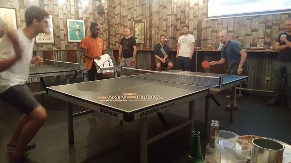 DT team at Table Tennis