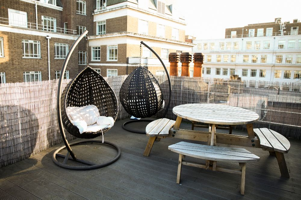 Decision Tech roof terrace