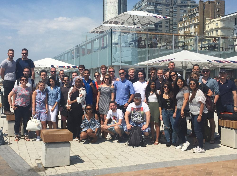 DT team away day in Brighton